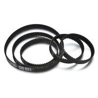 Rubber Closed Toothed Loop GT2 Timing Belt For CNC 3D Printer Black Color