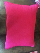 Red Valentine Holiday Lumbar Pillow With Insert