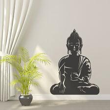 "Bouddha yoga om ""réveillé un"" peace love amovible sticker vinyl decal decor"