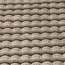 She Sews Sea Shell 100% Cotton Fabric by the yard Gray mermaid tail scales