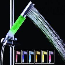Handheld 7Color LED Romantic Light Water Bath Home Bathroom Shower Head Glow Bar