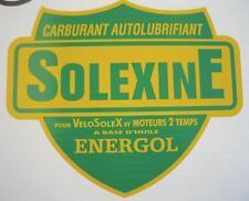 1 AUTOCOLLANT  SOLEXINE Energol  GM   220 x 260 SOLEX VELOSOLE PEUGEOT MBK