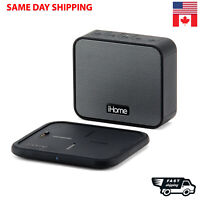 iHome 2 In 1 Wireless Charging Rechargeable Speaker Wireless Charging Pad iBTW88