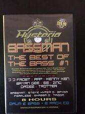 Hysteria Best of Bassman Vol 1 Oldskool classic drum n bass / jungle 6 x CD pack