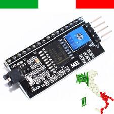 Modulo Adattatore Interfaccia Seriale IIC I2C display 1602 2004 HD44780 arduino