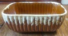 Antique Brush McCoy Pottery Brown Drip Pattern B-202-7