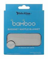 [3 Sets] Kidz Kiss Bamboo Bassinet / Cradle Waffle Blanket