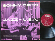 SONNY CRISS Jazz U.S.A. LP IMPERIAL 9006 US 1956 DG MONO Kenny Drew