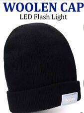5-LED luz Cap Beanie Sombrero con 2 baterías para Deportes Caza Camping Pesca
