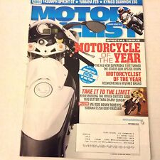 Motor Cyclist Magazine Kenny Roberts' Yamaha TZ750 September 2010 061517nonrh