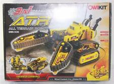OWIKit 3-in-1 All Terrain Robot Technic Wired Controlled Transforming Robot Kit