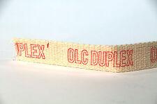 "OIL LAMP WICK- Duplex Wick 1  1/16""   (1 meter)"