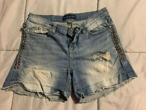 Rock & Republic Premium Denim Women's Jean Shorts Size 8