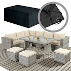 Large Causal Rattan Dining Set Furniture Covers For Sofas & Footstalls etc