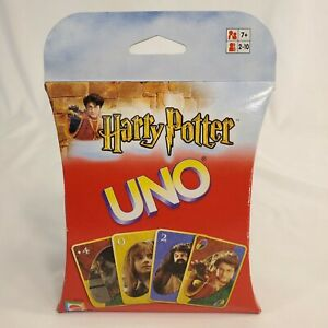 2002 Harry Potter UNO Card Game NEW SEALED