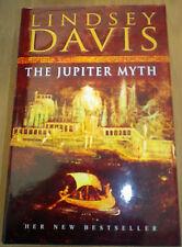 The Jupiter Myth by Lindsey Davis (Hardback, 2002) *Signed*