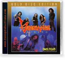 VENGEANCE RISING - Once Dead (NEW*LIM.500 GOLD CD*US WHITE THRASH METAL)