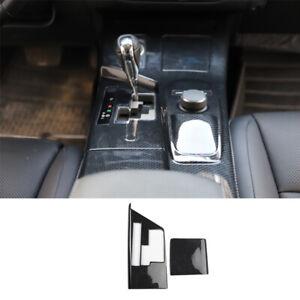 For Lexus ES300H 350 13-2014 Carbon Fiber central console Gear shift frame trim