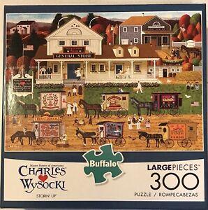 Buffalo Games - Charles Wysocki - Storin' Up- 300 Piece Jigsaw Puzzle