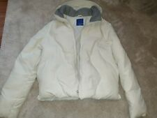 Firetrap duckdown white padded coat size small/medium. great condition