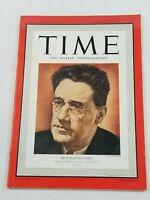 VINTAGE TIME MAGAZINE NOVEMBER 20 1939 GEORGE S. KAUFMAN ADOLF HITLER AL CAPONE