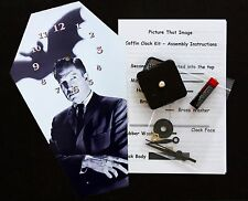 DIY Coffin Wall Clock Kit - 25.5cm High - Vincent Price - Different but Wierd