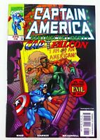 Marvel CAPTAIN AMERICA (1999) #8 Sam Wilson FALCON BECOMES CAP NM- Ships FREE!