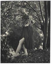 Fine Art Deco Camera Club 1930s Photograph Barefoot Model Lakeside H.R. Cremer
