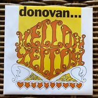 "DONOVAN MELLOW YELLOW Peace and Love promo 7"" 45 giri vinyl Red Ronnie"