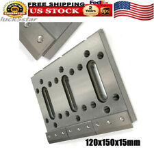 Wire Cut Edm Fixture Board Stainless Jig Tool Clamping Amp Leveling Silver 12x15cm