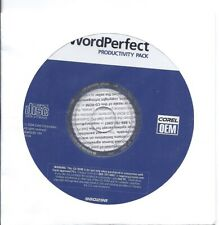 Corel WordPerfect 2004 Productivity Pack -  Sealed CD