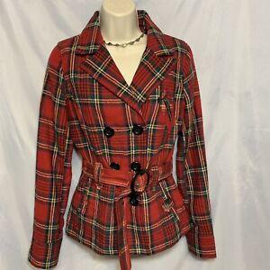 Vintage career wear jacket Vintage Cotton Blazer 80/'s flower Jacket Art to wear Jacket, Red Tulip Jacket Wildflower Red Jacket
