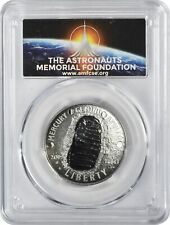 2019-S Apollo 11 50th Anniversary Comm Half Pcgs Pr70Dcam First Strike Amf Logo