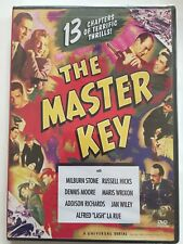 The Master Key DVD Region All. 13 Chapters Of Terrific Thrills. Brand New & Seal