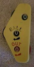 Vintage International Baseball Umpire Score Counter Clicker
