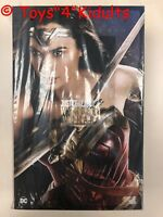 Hot Toys MMS 451 Justice League Wonder Woman Gal Gadot (Deluxe Version) New