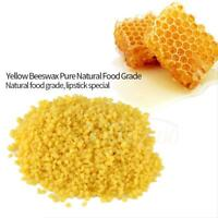 50g 100% Organic Natural Pure Yellow Beeswax Pellets Honey Cosmetic Food Grade