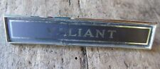 Plymouth  Valiant Emblem Badge Nameplate OEM 2822672 VERY NICE