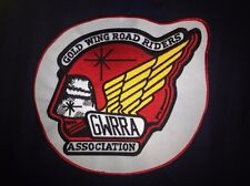 Rare Honda Gold Wing Road Riders Association GWRRA Biker Vest Jacket Patch Crest