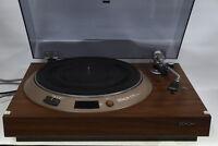 Denon PL-1700W (DP-1000) Vintage Direct Drive Turntable