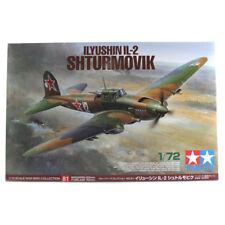 Tamiya Ilyushin IL-2 Shturmovik Aircraft Model Set (Scale 1:72) 60781 NEW