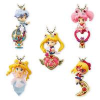 5pcs/set Sailor Moon Twinkle Dolly Charm Keychain Series 4 Figure Keychain