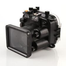 40m 130ft Waterproof Diving Housing Case For Fujifilm Fuji X-T10 16-50mm Lens