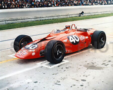 PARNELLI JONES 1967 STP OIL TURBINE INDY 500 AUTO RACING 8X10 PHOTO