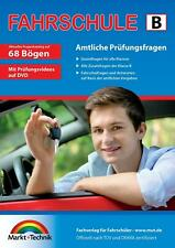 Fahrschule Fragebogen Klasse B - Auto Theorieprüfung original amtlicher Fragenkatalog auf 68 Bögen (2018, Taschenbuch)