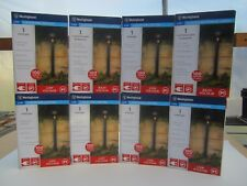 Free ship, (8) Westinghouse Low Voltage 1.2-Watt Black LED Landscape Path Lights