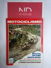 MOTOCICLISMO FEBBRAIO 1976 - HARLEY DAVIDSON SS 250  ITALJET BUCCANEER 125