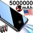 5000000mAh Backup External Battery 2USB Power Bank Pack Charger for Cell Phone