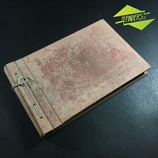"""VINTAGE c.1930's KODAK 'ELITE' 3"""" x 2"""" PHOTO ALBUM 24 PAGES EXCELLENT CONDITION"""