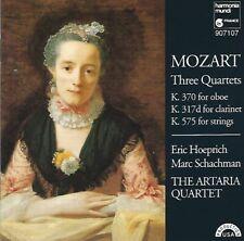 Wolfgang Amadeus Mozart (1756-1791) • Three Quartets CD